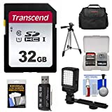 Essentials Bundle for JVC Everio GZ-R440, R450, R460, R550, R560, RY980 Video Camera Camcorder with LED Light + Case + Tripod + Accessory Kit