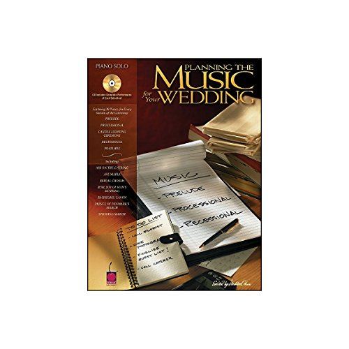 Cherry Lane Planning The Music for Your Wedding arranged for piano solo Cherry Lane Classical Piano
