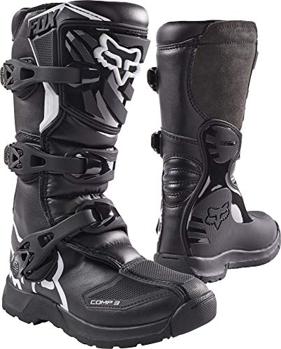 Fox Racing 2019 Youth Comp 3 Boots (8) (Black)