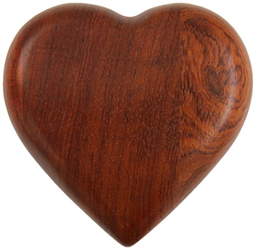 Price comparison product image Boing! Designs - Heartfelt Massage - Rosewood Massager (A00116)