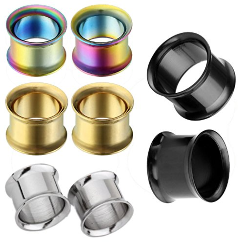 00g stainless steel plugs - 3