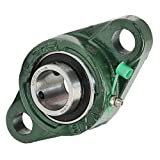 """1"""" Mounted Bearing UCFL205-16 + 2 Bolts Flanged Cast Housing"""