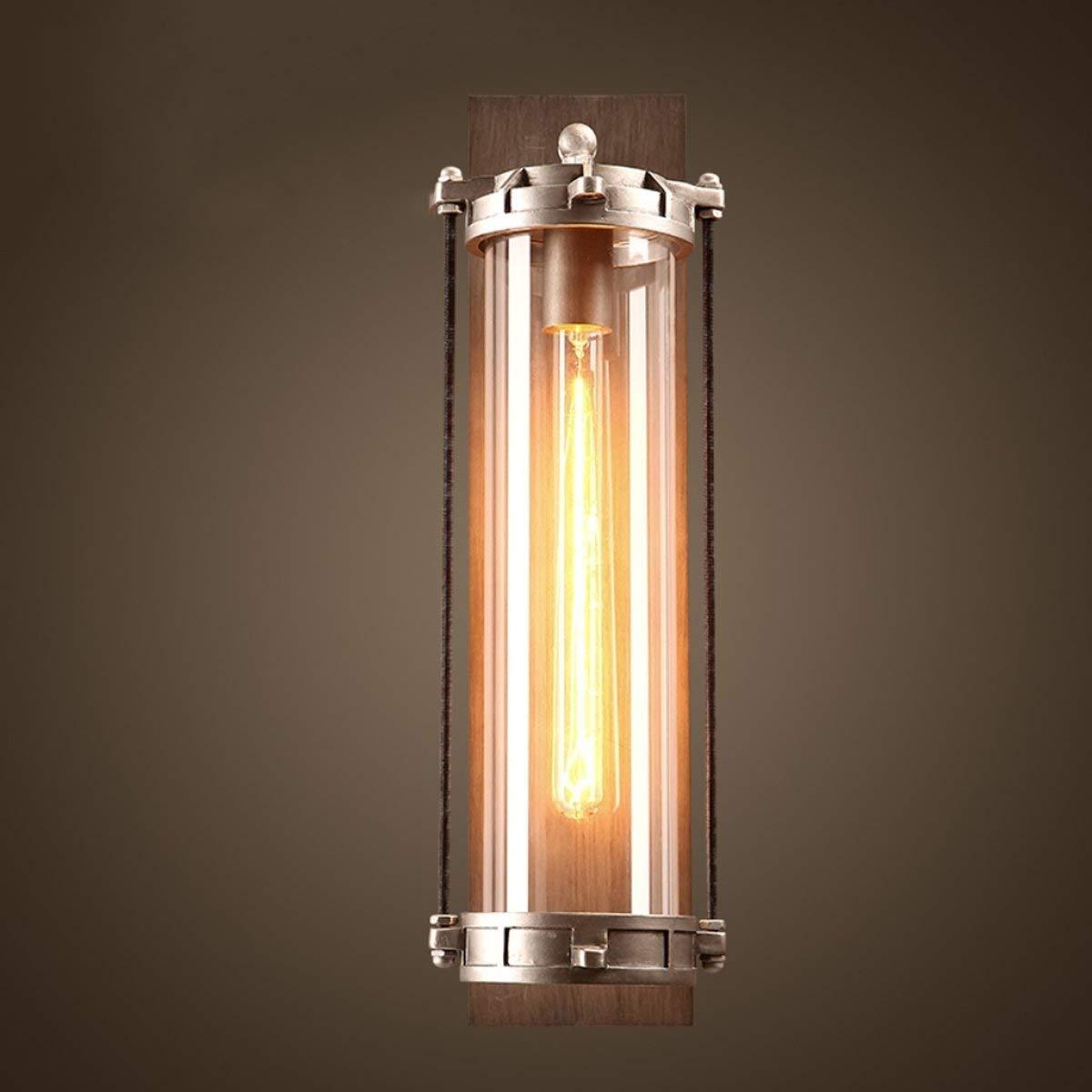 BXJ レトロクリエイティブウォールランプバー通路リビングルームウォールランプE27光源 (Color : A) B07R8KJGSK A