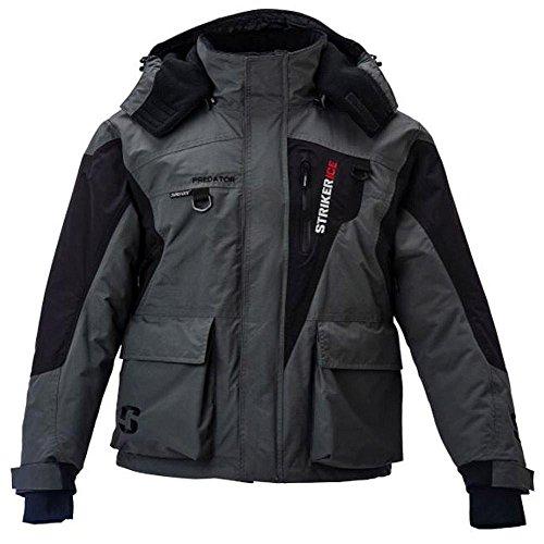 STRIKER Ice Predator Jacket Large (L/GRAY.BLACK) 115204 (Ice Suit)