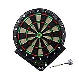 BleuMoo Electronic Dart Board Security darts set Plastic darts Soft darts