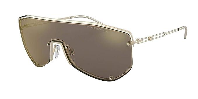 Emporio Armani 0EA2072 Gafas de sol, Pale Gold, 45 para ...
