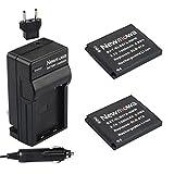 Newmowa SLB-07A Battery (2-Pack) an