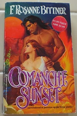 book cover of Comanche Sunset