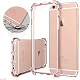 Egotude Shock Proof Anti Scratch Hard Back Cover Case for Apple iPhone 6 and 6S (Pink)