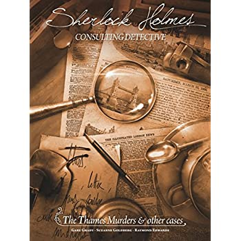 Fantasy Flight Games Sherlock Holmes: the Thames Murders & Other Cases Board Games