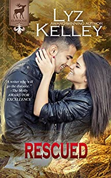 RESCUED: Will he give his life to save hers? (Elkridge Series) by [Kelley, Lyz]