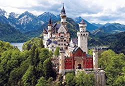Buffalo Games Neuschwanstein Castle Bavaria - 2000 Piece Jigsaw Puzzle