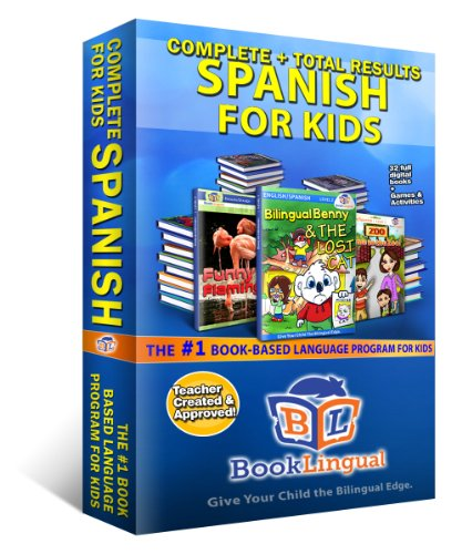 Spanish for Kids – 32 Digital Books + Parent's Guide + Guide to Spanish ()
