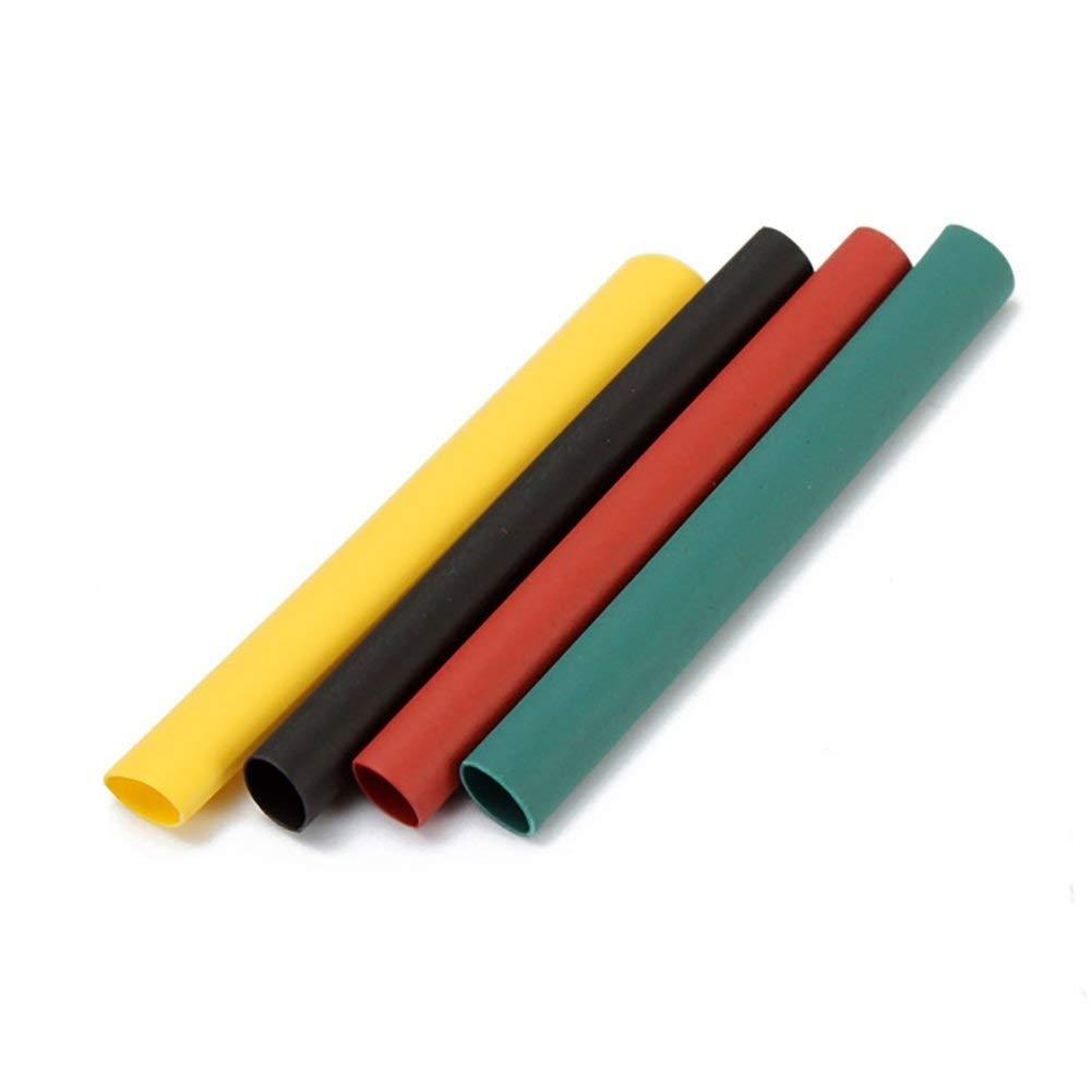 Schrumpfschlauch Verschiedene 2:1 Polyolefin Schrumpfender Tube Wrap Kabel Isolierte Schlauch Set Elektrische Isolierung Rohr Kit Mehrfarbig 328-tlg