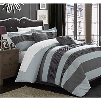 Amazon.com: Chic Home 6-Piece Park Lane Comforter Set