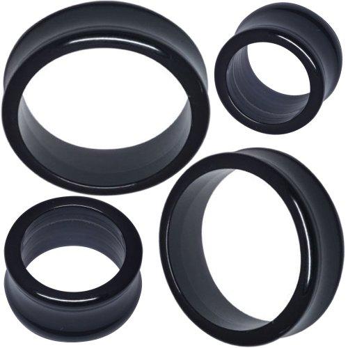 3/4 Inch gauges ear plugs flesh tunnels double flare expander stretcher MoDTanOiz 20mm (Acrylic Double Flare)