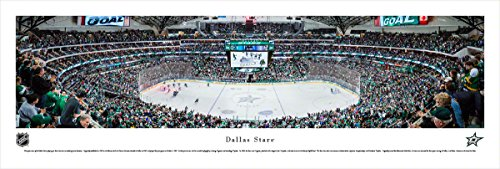 Dallas Stars - Center Ice - Blakeway Panoramas Unframed NHL Posters ()