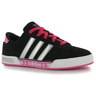 on sale 3b616 81682 KIDS TRAINERS GIRLS PINK ADIDAS NEO DAILY MONO UK CHILD SIZE 11 EU 29  Free  Postage   Amazon.co.uk  Shoes   Bags