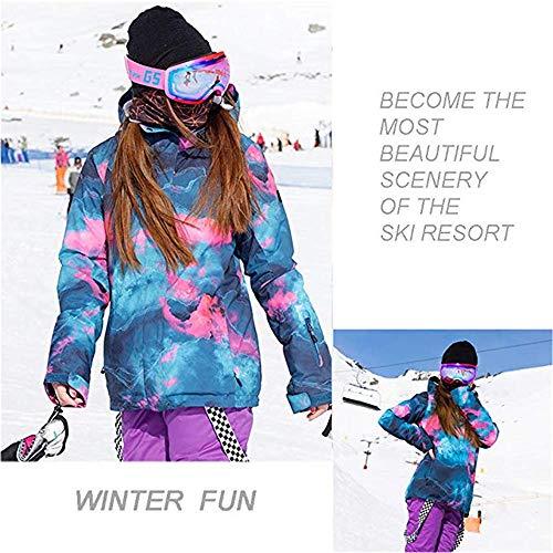a4e76a4b8b 2018 Women s Ski Jacket and Pants High Windproof Waterproof Technology Snow  Insulated Jacket Set