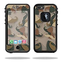 Mightyskins Protective Vinyl Skin Decal Cover for Lifeproof iPhone 6/6S Case fre Cover wrap sticker skins Hipster Camo