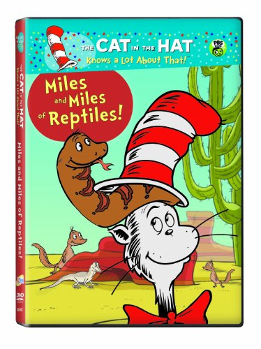 Cat in the Hat: Miles & Miles of Reptiles ()