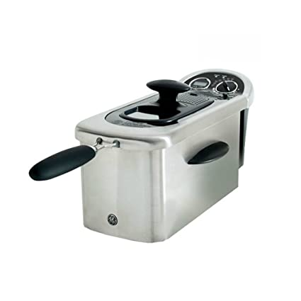 GE 12-Cup 1500-Watt Deep Fryer with Viewing Port and Digital Timer |