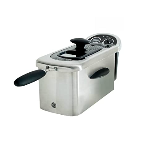 Amazon.com: GE 12-Cup 1500-Watt Deep Fryer with Viewing Port and Digital Timer | GE-169219: Kitchen & Dining