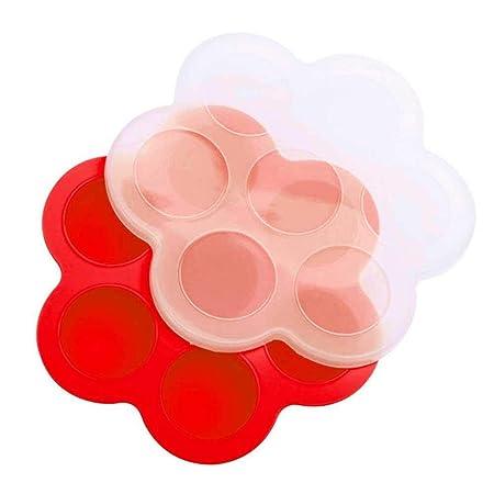 Compra Kobwa Moldes de silicona para huevos de huevo, moldes de ...