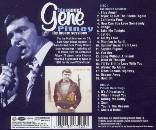 Blue Angel: the Bronze Recordings by Pitney, Gene