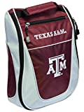 Team Golf Texas A&M Aggies Red White Zippered Carry-On Golf Shoes Travel Bag