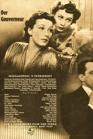 El gobernador - Brigitte Horney, Willy Birgel, Hannelore ...