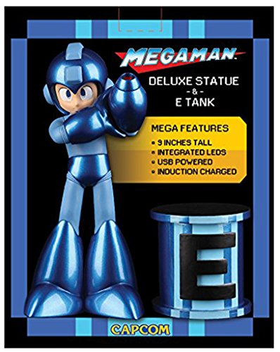Mega Man Statue & E-Tank With Mega Man Legacy Collection Game - PlayStation 4 Special Edition by Capcom