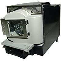 AuraBeam Professional Mitsubishi VLT-XD280LP Projector Replacement Lamp with Housing (Powered by Osram)