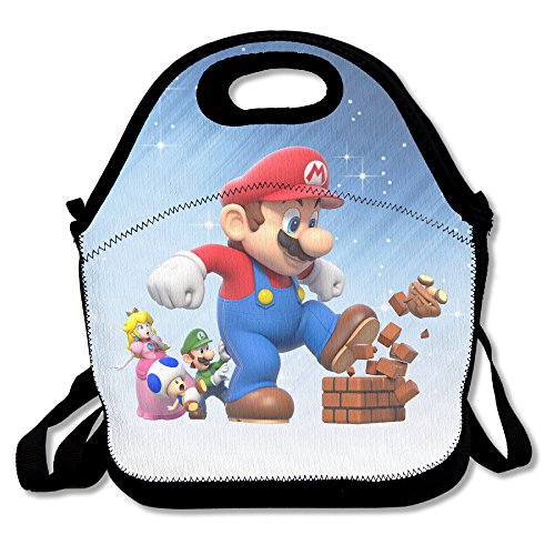 LHLKF Super Mario Bro Personality Travel Bag One Size