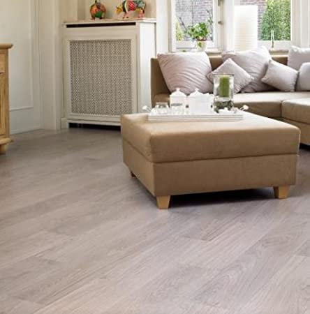 Quick Step Classic Bleached White Oak Laminate Flooring Amazon
