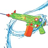 Liberty Imports Battery Operated Motorized Automatic Electric Super Water Gun Soaker Blaster (Green (SIG556))