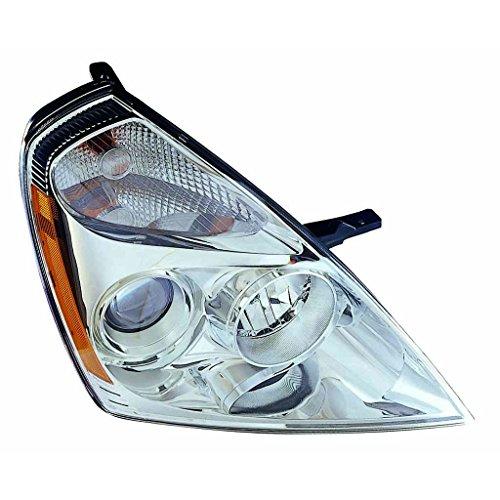 Fits KIA Sedona 06 Headlight Assembly Passenger Side (NSF Certified)
