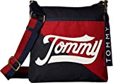 Tommy Hilfiger Women's Daly Large North/South Crossbody Navy/Multi One Size