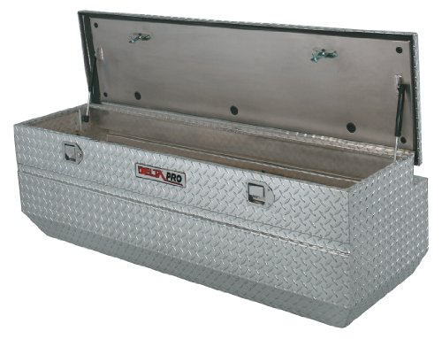 Delta Pro PAH1421000 Compact Bright Aluminum Chest Truck Box - Truck Chest Delta