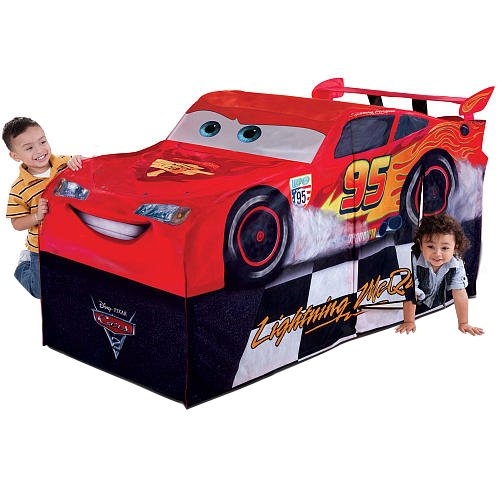 Amazon.com Playhut Cars Lightning McQueen Play Structure Toys u0026 Games  sc 1 st  Amazon.com & Amazon.com: Playhut Cars Lightning McQueen Play Structure: Toys ...
