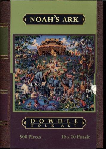 Dowdle Folk Art Storybook Collection - Noah' Ark - 500 Piece Puzzle