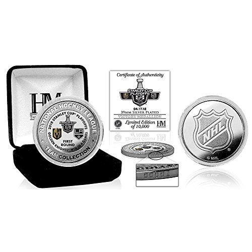 Official Vegas Golden Knights Highland Mint 2018 Playoffs Round 1 Victory Mint Coin - HIGHLY - Nhl Coin