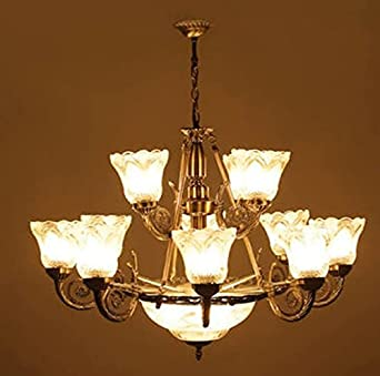 Buy FARMHOUSE Antique Chandelier With 12 Portuguese Style Lamps