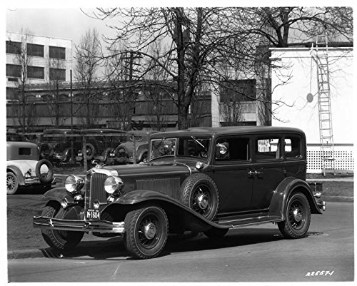 1932 Chrysler Imperial (1932 Chrysler Imperial Factory Photo)