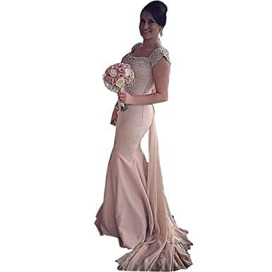 Chady Cap Sleeves 2017 Cheap Bridesmaid Dresses Under 100 Mermaid