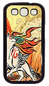 Samsung Galaxy S3 I9300 Cases & Covers - White Wolf PC Custom Soft Case Cover Protector for Samsung Galaxy S3 I9300 - Black