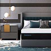 #LightningDeal Twin Mattress, Avenco 10 Inch Twin Memory Foam Mattress in a Box, Premium Bed Mattress Twin with CertiPUR-USFoam for Supportive, PressureRelief & Cooler Sleeping,10 Years Support