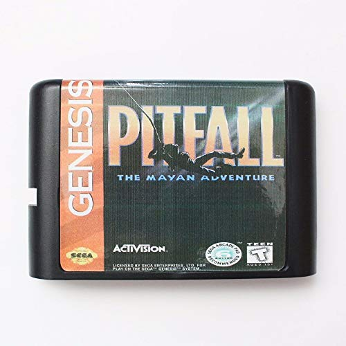 (ROMGame Pitfall The Mayan Adventure 16 Bit Md Game Card For Sega Mega Drive For Genesis)