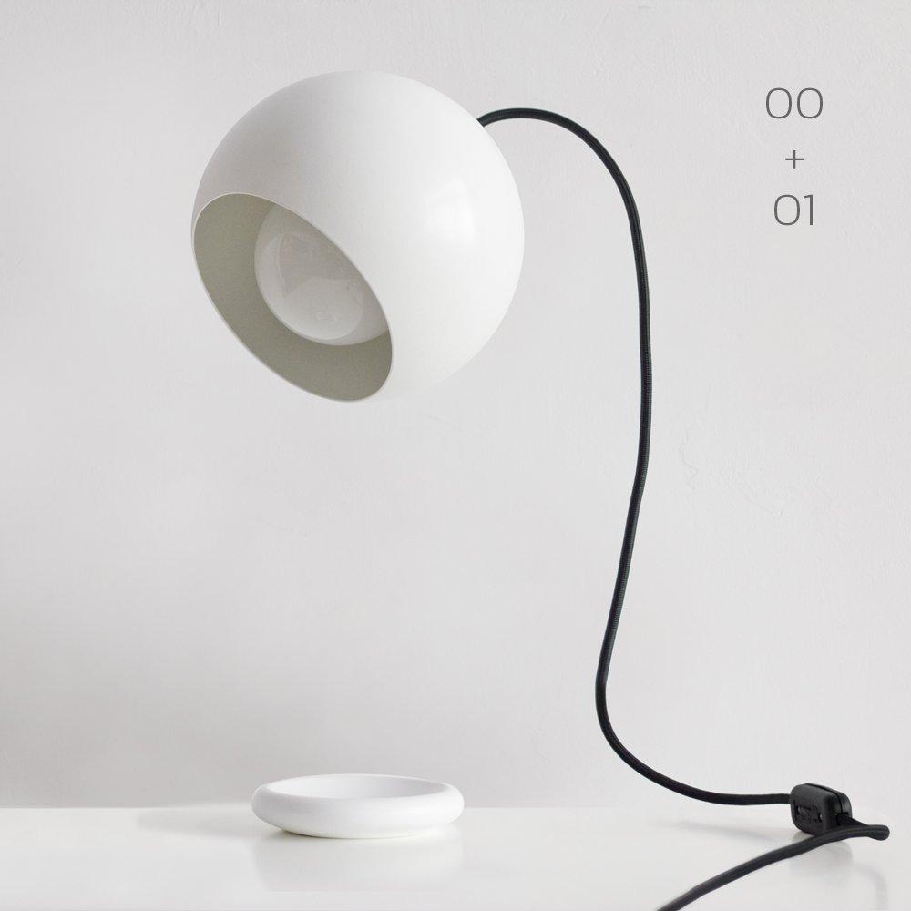 ORBITAL de sobremesa. Lámpara Modular Magnética.
