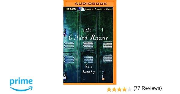 The gilded razor a memoir sam lansky cole ferguson the gilded razor a memoir sam lansky cole ferguson 9781511365239 amazon books fandeluxe Images